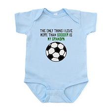 Soccer Grandpa Body Suit