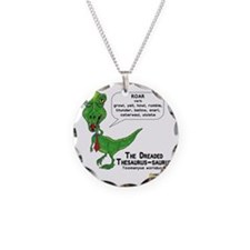 The Dreaded Thesaurus-saurus Necklace