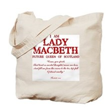 Lady Macbeth (red) Tote Bag