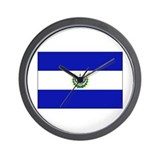 Cute El salvador flag Wall Clock