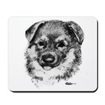 German Shepherd Puppy Mousepad