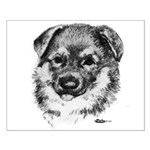 German Shepherd Puppy Small Poster