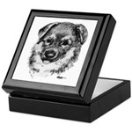 German Shepherd Puppy Keepsake Box