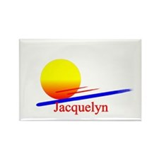 Jacquelyn Rectangle Magnet (100 pack)