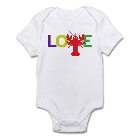 Lobster Love Infant Bodysuit