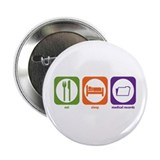 Eat Sleep Medical Records Button