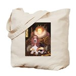 Queen & Basset Tote Bag