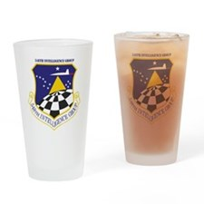 548th Intelligence Group Drinking Glass