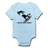 Rocking Horse, My Own Stunts Infant Bodysuit