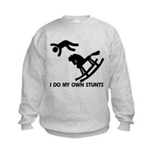 Rocking Horse, My Own Stunts Sweatshirt