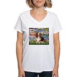 Lilies & Basse Women's V-Neck T-Shirt