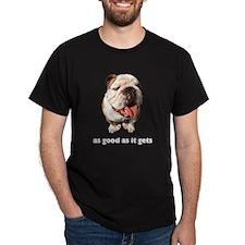 Good Bulldog Photo T-Shirt