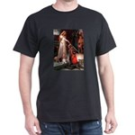 The Accolade & Basset Dark T-Shirt
