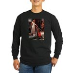 The Accolade & Basset Long Sleeve Dark T-Shirt
