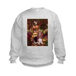 The Path & Basset Kids Sweatshirt