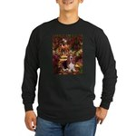 The Path & Basset Long Sleeve Dark T-Shirt
