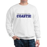 Proud Grandpa of a Coastie Sweatshirt
