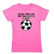 Soccer Daddy Girl's Tee