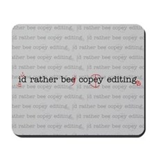 Cute Copyediting Mousepad