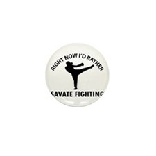 savate fighting designs Mini Button (100 pack)