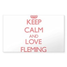 Keep calm and love Fleming Decal