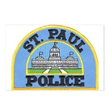 Saint Paul Police Postcards (Package of 8)
