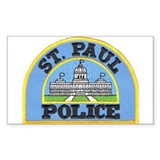 Saint Paul Police Rectangle Decal