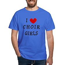 I Heart Choir Girls T-Shirt