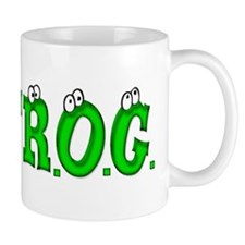 F.R.O.G. (Fully Rely On God) Mug