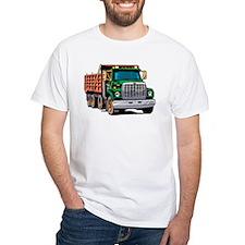 White Dump Truck T-Shirt