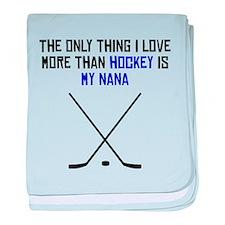 Hockey Nana baby blanket