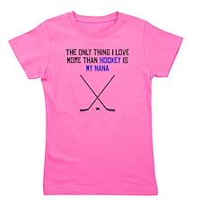 Hockey Nana Girl's Tee