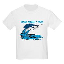 Custom Marlin Jumping T-Shirt