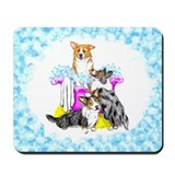 Corgi Tub full Mousepad