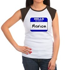 hello my name is marion Tee