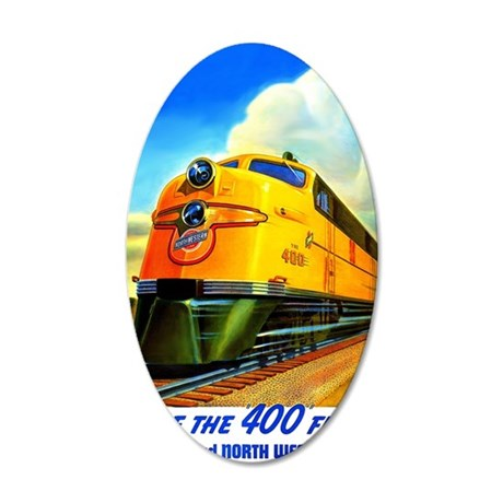 Ride the 400 Fleet 35x21 Oval Wall Decal