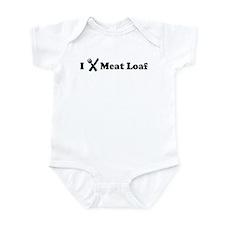I Eat Meat Loaf Infant Bodysuit