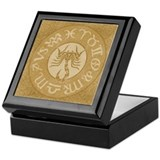 Scorpio Astrology Symbol Sign Keepsake Box
