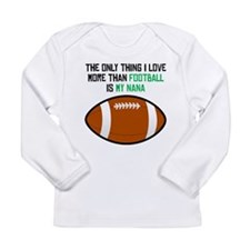 Football Nana Long Sleeve T-Shirt