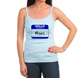 hello my name is marc  Ladies Top