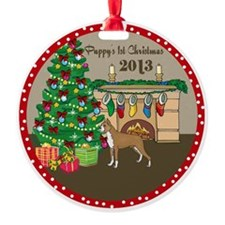2013 Boxers 1St Christmas Ornament
