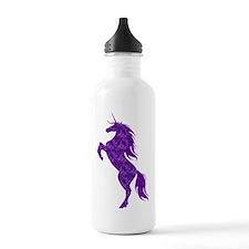 Purple Unicorn Water Bottle