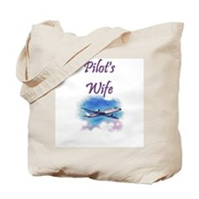 Pilot's Wife Tote Bag