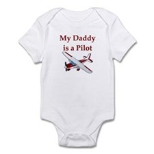 My Daddy Is A Pilot Infant Bodysuit