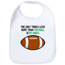 Football Uncle Bib