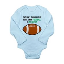 Football Sister Body Suit