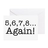 5,6,7,8 Again! Greeting Cards (Pk of 10)