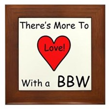 More Love With a BBW Framed Tile