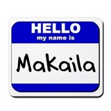 hello my name is makaila  Mousepad