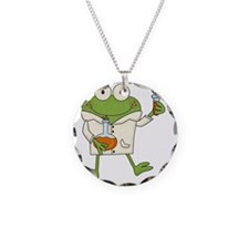 Frog Scientist Necklace